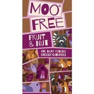 moo free everyday fruit and nut chocolate bar