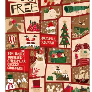 moo free milk chocolate dairy freeadvent calendar